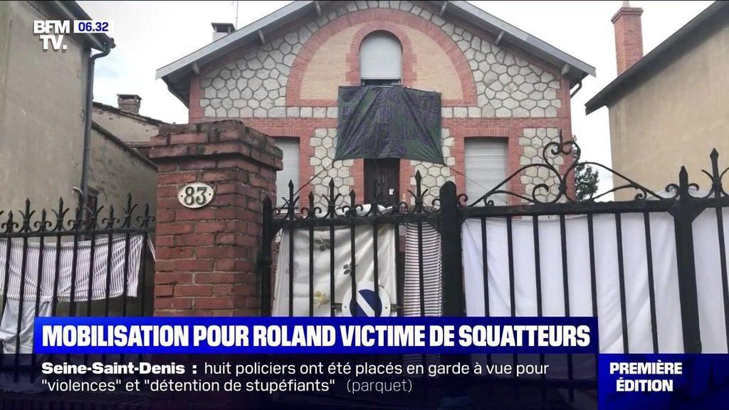 Roland, les squatteurs et les médias